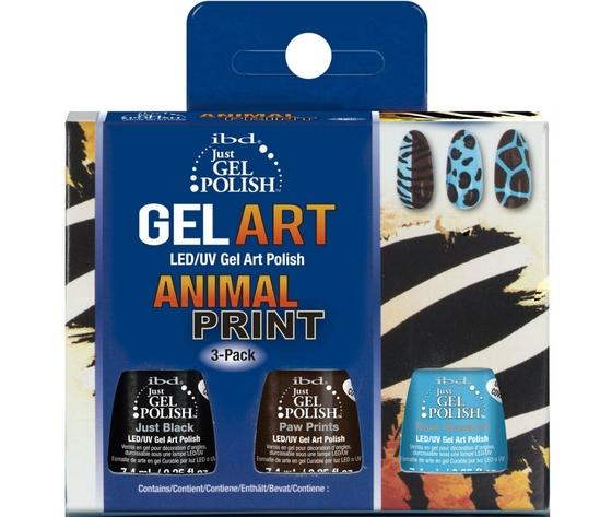 Ibg gel art animal print