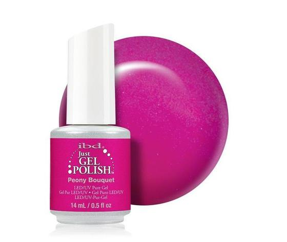 Psb ibd just gel polish 14ml peony bouquet 01