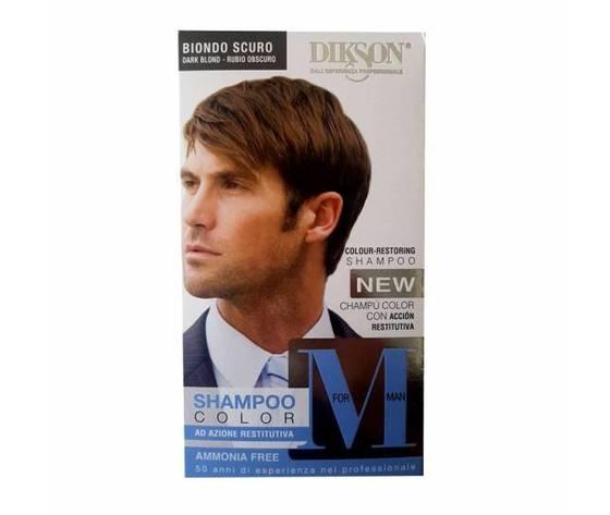 Dikson shampoo color for man biondo scuro