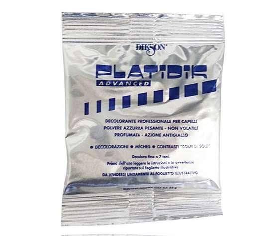Platidik advanced polvere decolorante azzurra 35gr
