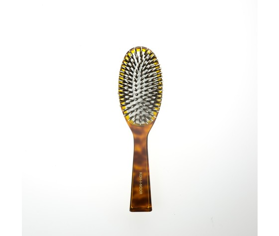 122 spazzola pneumaica ovale grande con ciuffi di setola di cinghiale e picco interno in nylon