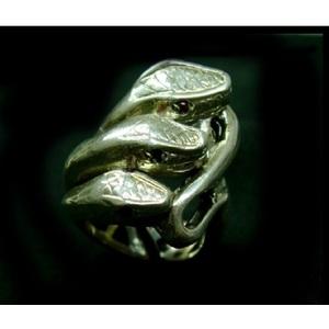 Anello Tre Serpenti