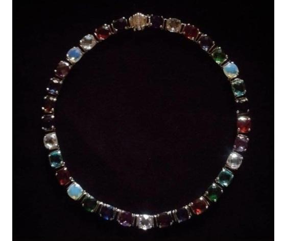 040 gioielli con pietra preziosa  collier