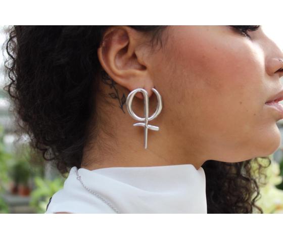 Phi greco coppia orecchini