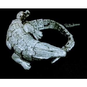 Bracciale Coccodrillo Snodato