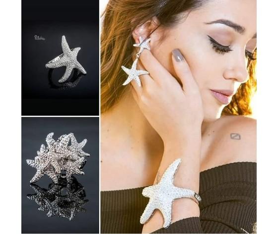 Linea animals 001abostarfish anello bracciale orecchini stellemarine