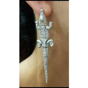 Crocodile Earring