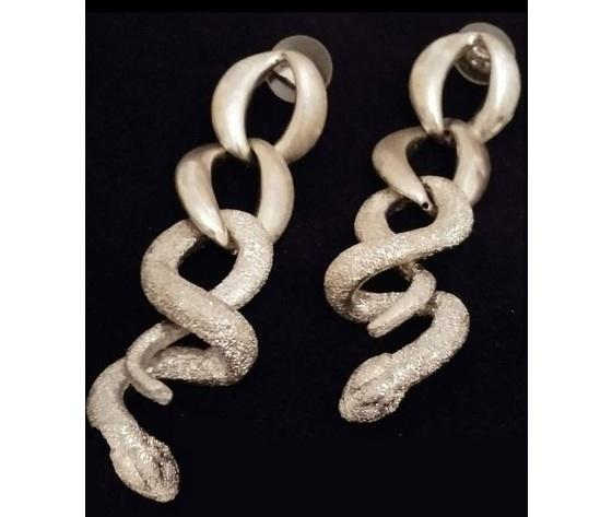 038 orecchino serpente macr%c3%b2