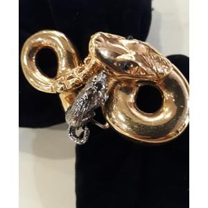 Anello Serpente con Topo