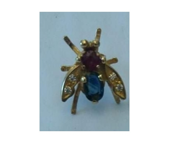 044 anello  mosca snodato ring