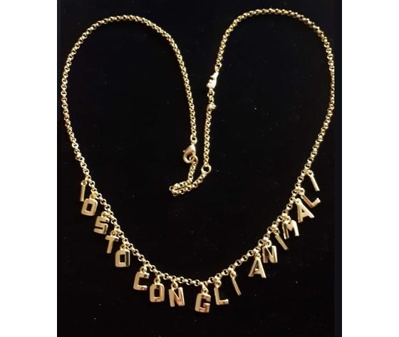 Io sto con gli animali palladino design jewelry