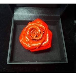 Anello Fiore Rosa Grande