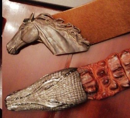 Cinture cavallo e serpente