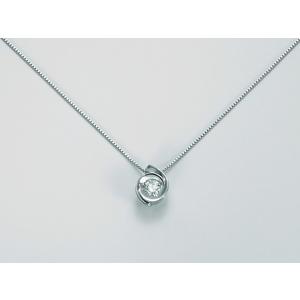 Collana Miluna Donna CLD3996-006G7 Oro bianco Oro bianco Diamante