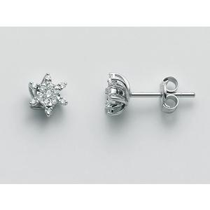 Orecchini Miluna Oro 750/1000 con diamanti collezione Favolosa ERD2489