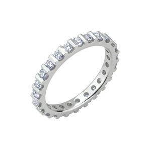 Anello Eternity in oro con diamanti da Kt 0,02 ognuno