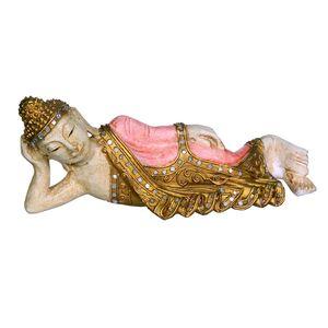 Gecas Regali dal mondo Budda SDRAIATO Rosa Antico PICC. 30X13