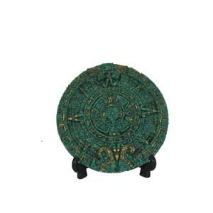 Gecas Regali dal mondo Calendario Maya Misura D.14 cm. 1MX0032