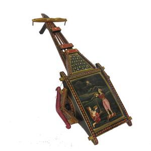 Gecas Regali dal mondo CARRETTO Dipinto 55X22 cm.