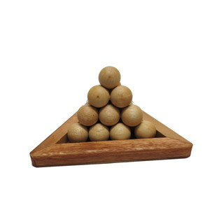 Gecas Regali dal mondo GIOCO BALL PYRAMID Misura 10X16 cm.