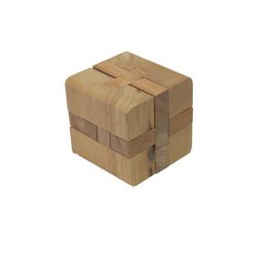 Gecas Regali dal mondo Gioco Puzzle CUBO Legno Misura 6X6X6 cm