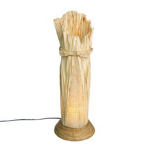 Gecas Regali dal mondo Lampada Corda Foglia H.60 CM