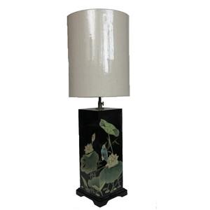 Gecas Regali dal mondo Lampada Legno Laccato Misura H 76 cm.1HK0104