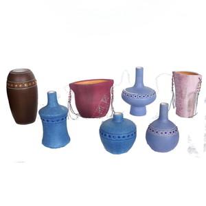 Gecas Regali dal mondo Lotto 24 Composto da 105 vasetti in Ceramica e Perline
