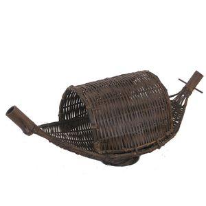 Gecas Regali dal mondo LUME Legno Bambu Barca 50X20X20 cm