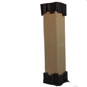 Gecas Regali dal mondo LUME Legno Stoffa Iuta Misura 90X22 cm.