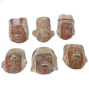 Gecas Regali dal mondo Maschere Terracotta ASSORTITE
