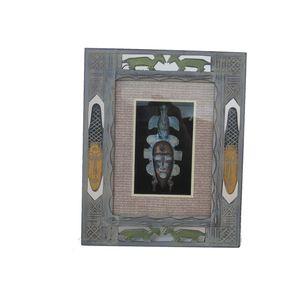 Gecas Regali dal mondo QUADRO AFRICA MASCHERA 32X26 cm.