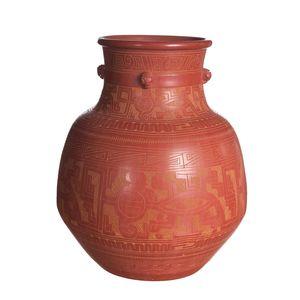 Gecas Regali dal mondo Vaso URNA Terracotta H 45