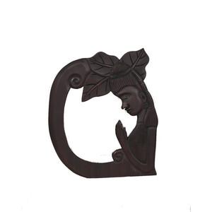 Gecas Regali dal mondo Specchio Legno Dama Misura 45X40 cm.