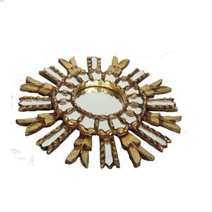 Gecas Regali dal mondo Specchio Rotondo Sole Dorato 35 CM.