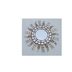Gecas Regali dal mondo Specchio Sole Argentato 50 CM. 1PE0401