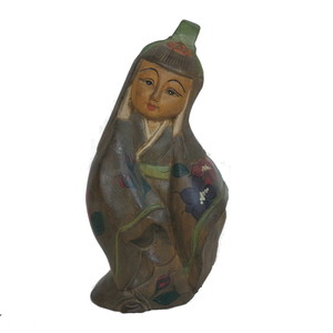 Gecas Regali dal mondo Statua Bimba Giapponese Misura H.26.cm.