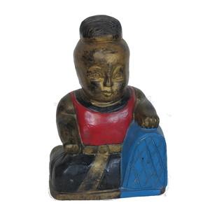 Gecas Regali dal mondo Statua Bimbo con Cuscino Misura 25X15 cm.