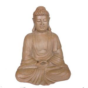 Gecas Regali dal mondo Statua Budda in PLYSTONE 34X26 CM.