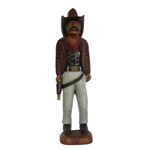 Gecas Regali dal mondo Statue Cowboy in Piedi H.90 cm.