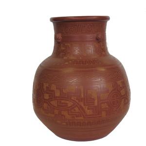 Gecas Regali dal mondo - Vaso URNA Terracotta H.40 CM.