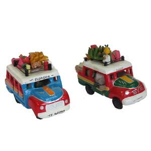 Gecas Regali dal mondo. Autobus Ceramica. Misura 13X10 cm.