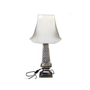LAMPADA IN LEGNO TRAFORATO H. h67 CM 1IN1517