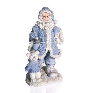 Gecas Regali dal mondo - Babbo Natale con Campana. Misura 18 x 35 cm