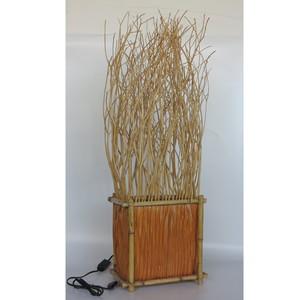 Gecas Regali dal mondo - .Lampada Rattan Bambu H86 CM.