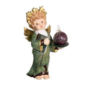 Gecas Regali dal mondo - Angelo Ceramica Portacandela Misura H. 40 cm