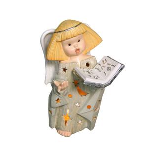 Gecas Regali dal mondo - Angelo Ceramica Portacandela Misura H.28 cm