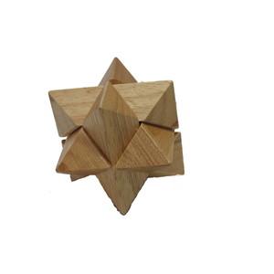 Gecas Regali dal mondo GIOCO PUZZLE STELLA Misura 8X8X8 cm.