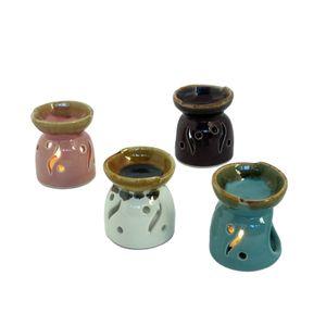 Gecas Regali dal mondo - Bruciaroma Ceramica Mini Misura 7 x 6 cm