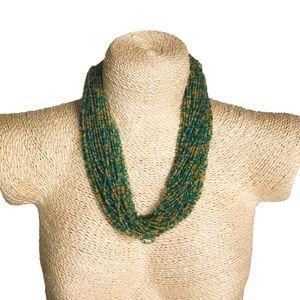 Gecas Regali dal mondo - Collana Perline multifili L 60 cm
